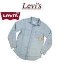 af084 new article Levis denim shirt men US line Levis CLASSIC DENIM WORKSHIRT NEW AGE BLEACH long sleeves denim work shirt Levi's
