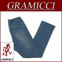 gm062 brand new GRAMICCI DENIM NARROW PANTS pants antique processing stretch denim narrow pants climbing pants GMP-14F005 MEDIUM USED men's Chino casual outdoor long