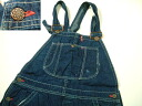 Denim overall US old clothes Sears of unknown kpt430 w33 brand