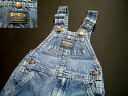 OSHKOSH Oshkosh denim overall US old clothes for kpt446 kids