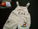 Mickey 2WAY overall old clothes disney mini for kpt447 kids