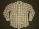 lls517 S Townsley long-sleeved lamecheck t-shirt US vintage Western