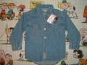 nnl26 kids Levi's denim shirt brand new deadstock