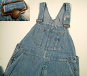 kpt530 w38 70's BIGMAC denim overalls US thrift Big Mac