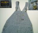 kpt532 w41 OSHKOSH overalls ヒッコリーストライプ US thrift