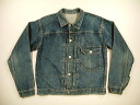 kjk654 M LEVIS 506xx 1st first two needle scan vintage G ジャンリーバイス