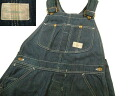 kpt319 w33 Sears Sears denim overall US old clothes roebuck
