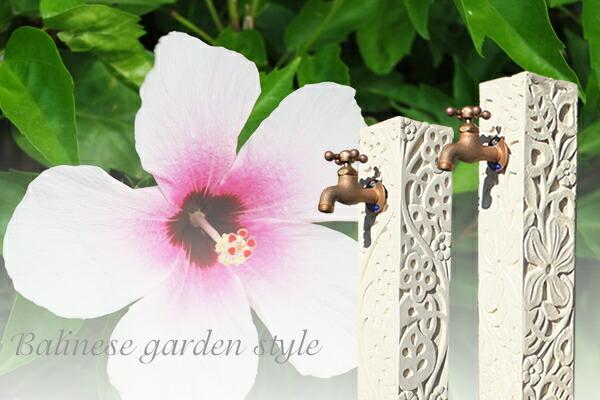 Asian garden accents