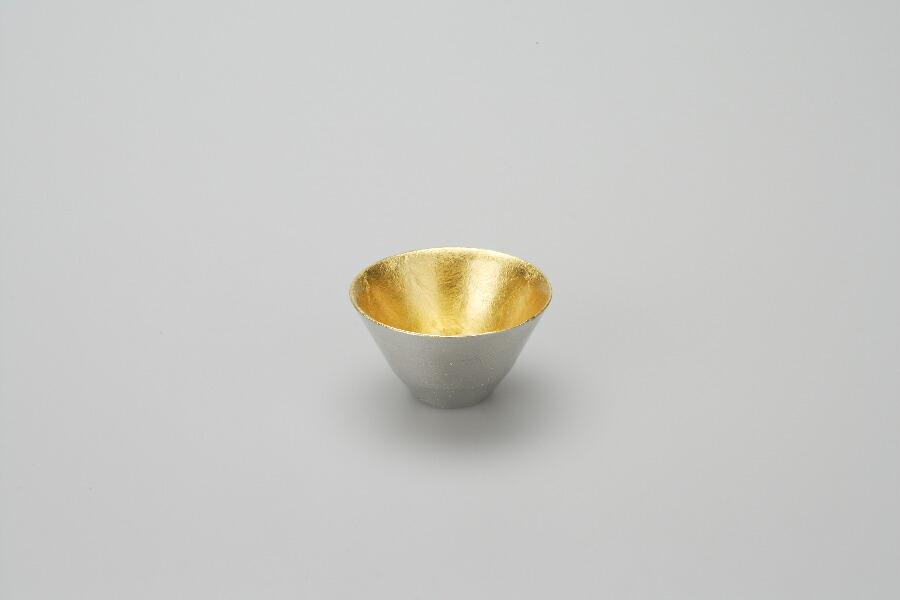 能作 盃 − 喜器(きき) 2 金箔 511260 錫