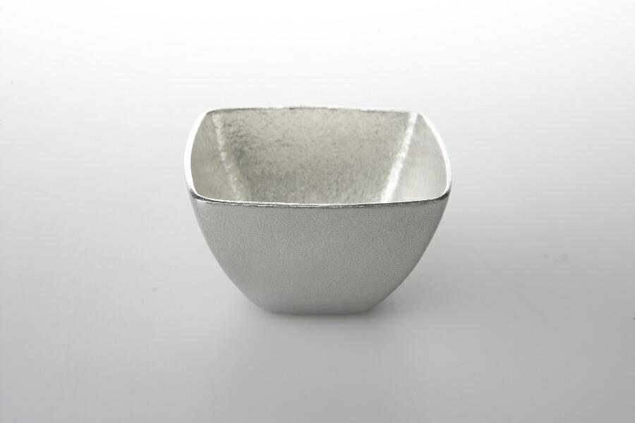 能作 小鉢 −  四角 501030 錫100%