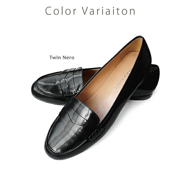 Fabio Rusconi �ե��ӥ� �륹�����˥��ʥ�� �ѥƥ�� �?�ե��� �� Patent Loafer ��