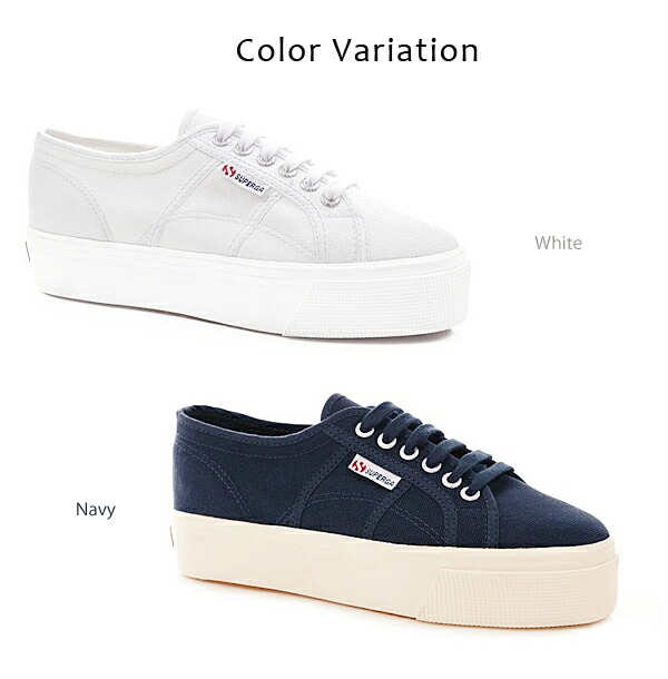 SUPERGA ���ڥ륬 ���ˡ����� �� �ͥ��ӡ� ���� �����Х� �� 2790A COTW LINEA UP AND DOWN ��