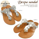 It is gorgeous, and the rubber of the safeguard is belonging to it and is relieved in the shiningly clear stone of a good tong sandals big impact in star Mera sandals Deepa Sandal ディーパサンダル this summer