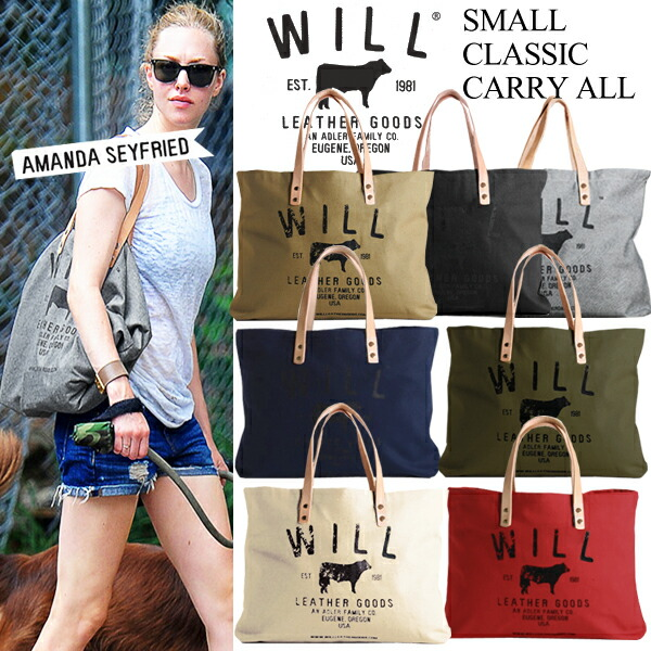 WILL LEATHER GOODS ������쥶�����å� �����Х� �ȡ��ȥХå� ��SMALL CLASSIC CARRY ALL��