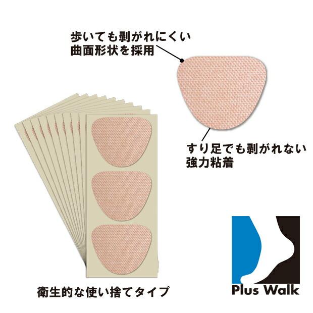 タコ ウオノメ 魚の目 まめ たこ サポーター 足裏 痛み 靴ズレ フットケア 歩行 日本製 健康