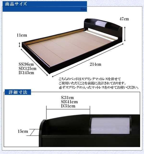 こちらのベッドはスプリングマットレスを併せてご使用いただくことを前提に設計されております。必ずスプリングの入ったマットレスをのせてお使いください。
