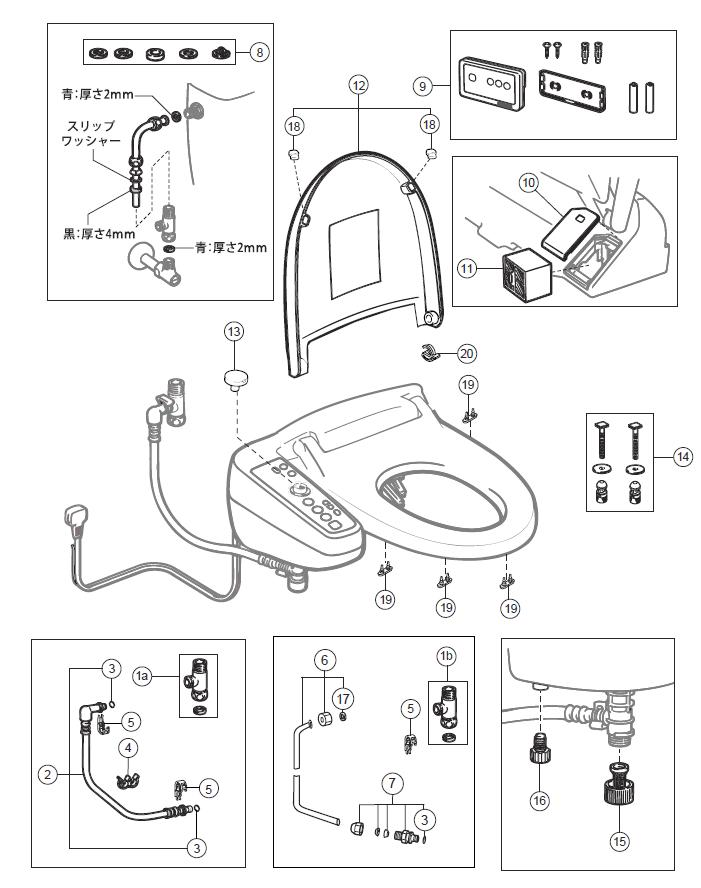 Lifesaving Appliance together with 532 furthermore Changing Flushometer Toilet To A Toilet Which Looks Like A 906500000000L59 moreover Inax Toilet Parts likewise Rubber Pipe Seals price. on toilet rubber gasket