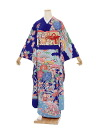 [Kimono rental] long-sleeved kimono rental 55 original bingata style [wedding] [graduation ceremony] [long-sleeved kimono] [trusting galumnidae]