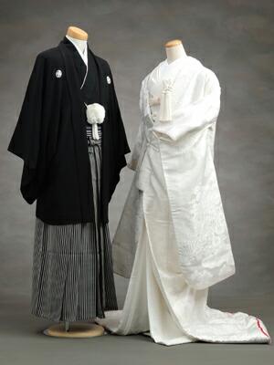 日本传统婚礼服装