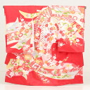 [Rental] bundle girls baby clothes rental 1037 red and then [祝着] [shrine] [うぶぎ ubugi]