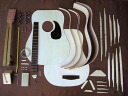 HOSCO GR-KIT-D2 option folk guitar kit mahogany 《 folk guitar assembling kit 》