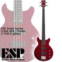 ESP Artist Series J-TVB-V glitter