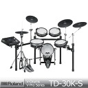 Roland v-drums V-Pro series TD-30K-S Roland electronic drums with electronic trigger &