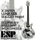 ESP ECLIPSE S-V BRILLIANT -MIXEDNEDIA-