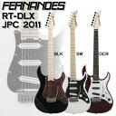 2011 Fernandes RT-DLX JPC BLK / SW / DCR Fernandez guitars