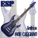 ESP Signature Series ROB CAGGIANO ( See Thru Purple )
