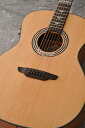 Luna Guitars Art Deco inspired full GA spruce mahg? s acoustic guitar.""