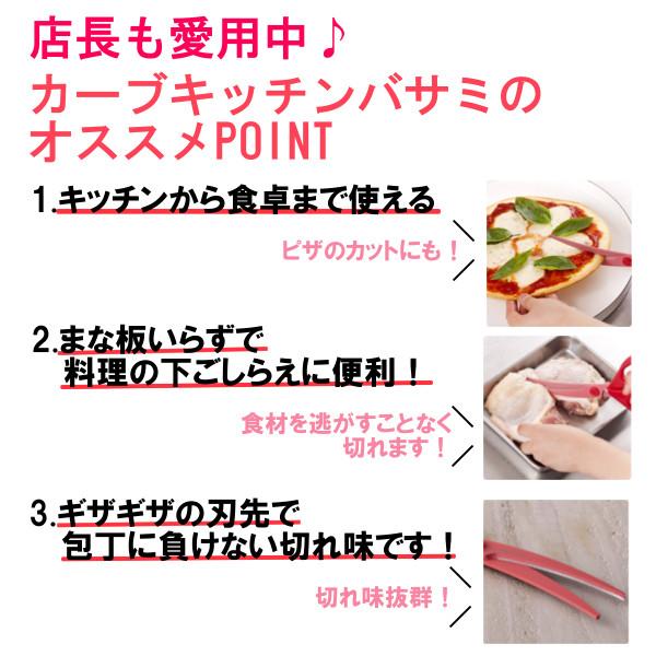 貝印 カーブキッチンバサミ DH2501【D】