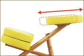 プロポーションチェア:座面調節