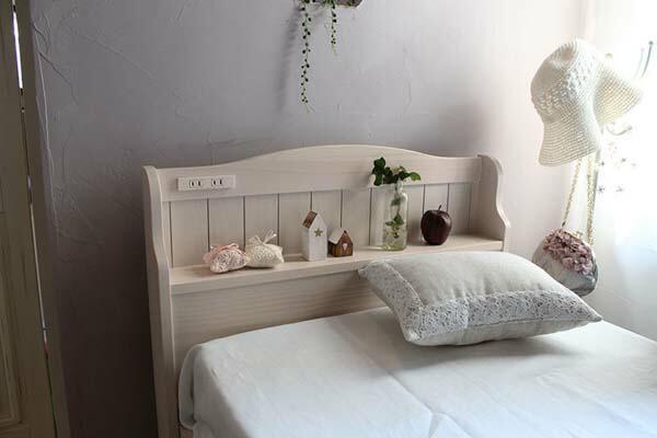 【ベッド】引出し付ベッド(セミシングルショート)【ベッド部品】萩原 MB-5005SS-BR・ブラウン【TD】【】【HH】