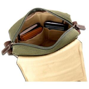 帆布ショルダー,小物ポケット
