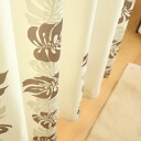 Curtains natural drape casual curtain Lily all 2 color * 54 size available.