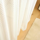Lace Curtains swirl / snow-all 2 color * 54 size available.