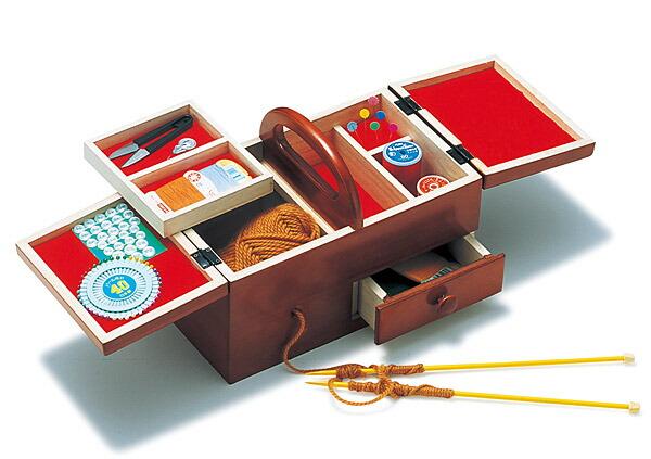ソーイングボックス、裁縫箱