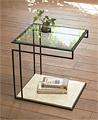 ガラステーブル、サイドテーブル、ネストテーブル
