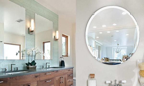 洗面鏡・トイレ鏡・化粧鏡・浴室鏡(国産)