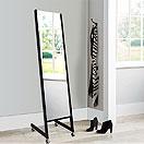 姿見鏡(国産・業務用):国産・最高品質の業務用・姿見鏡。全国のデパートで使用されているプロ用の姿見鏡(キャスター付