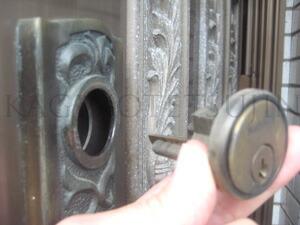 ALPHA装飾錠Nationalシリンダーの交換3