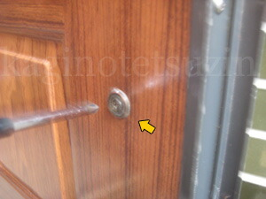 KODAI玄関錠の交換3