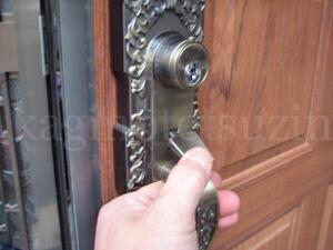 KODAI玄関錠の取付方法2