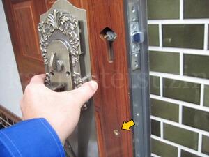 KODAI玄関錠の取付方法3