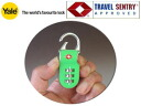 Yale (Eire) TSA travel lock