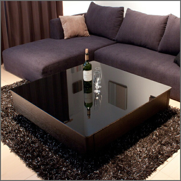 Square Center Table Designs : ... Center table Nordic Black Black storage Cafe table glass table living
