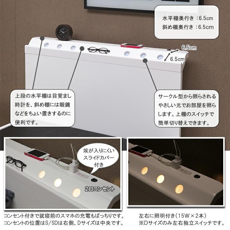 デザイン棚 水平棚・ちょい置き斜め棚