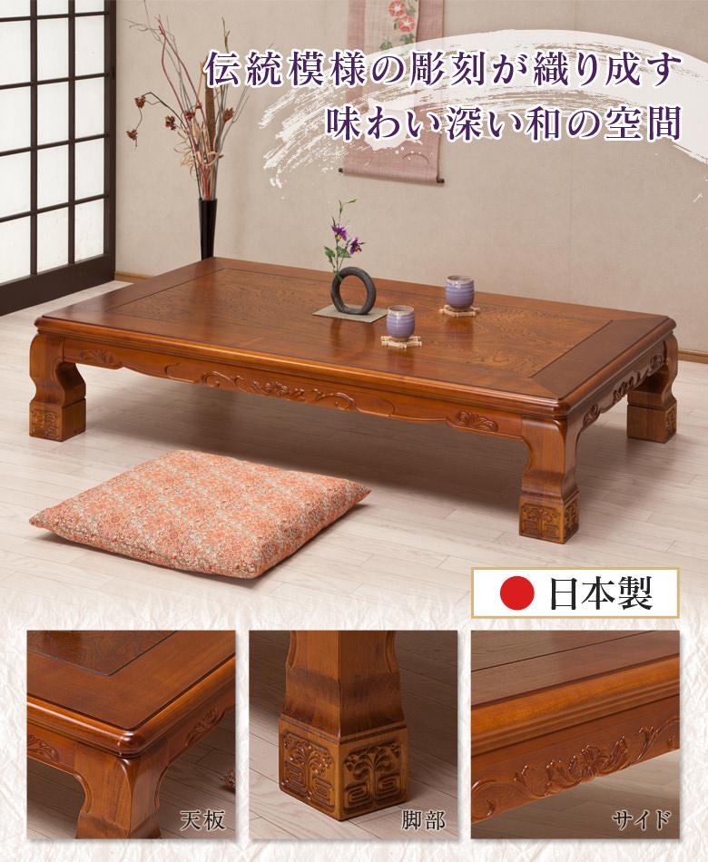 伝統模様の彫刻 日本製