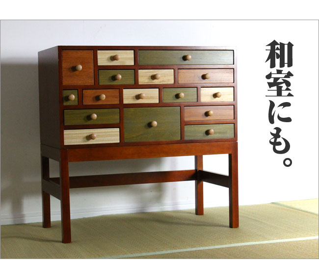 kagudoki  라쿠텐 일본: 화려한 와이드 체스 트 크라운 아시안 가구 ...